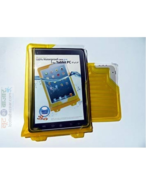 "Korean Made WP-T7 DiCAPac 100% Waterproof case for Tablet PC, E-Book up to 7.9"" (Universal Type) (WPMC05)"