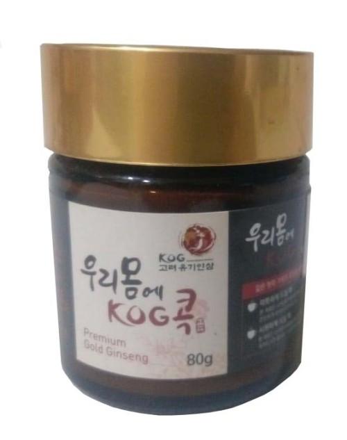 Korean Organic Premium Gold Ginseng (80 g) (GS08)