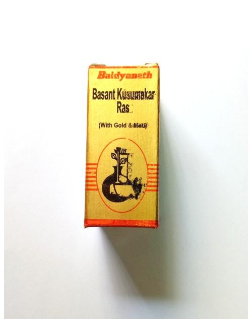 Baidyanath Basant Kusumkar Ras (with Gold & Pearl)