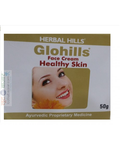 Herbal Hills Glohills Face Cream For Healthy Skin