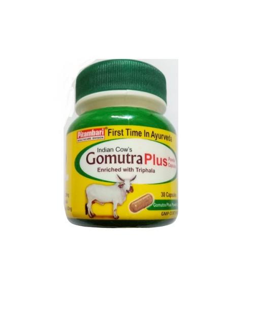 Pitambari Indian Cows Gomutra Plus Capsules