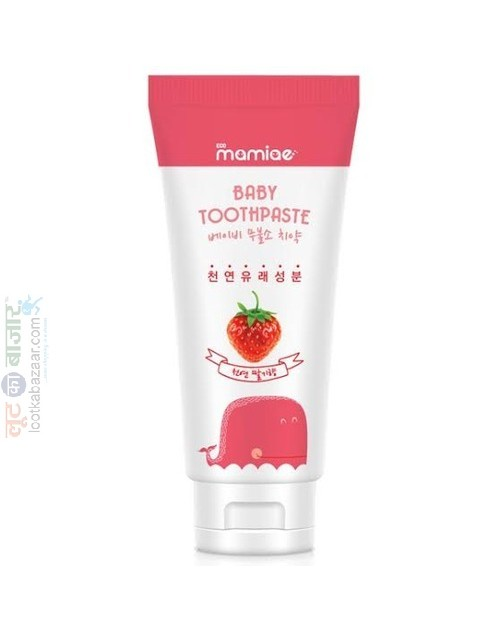Baby Strawberry Toothpaste