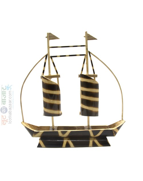 Hand Crafted Decorative Bamboo Boat For Home Decor (SEHCWBB021901)
