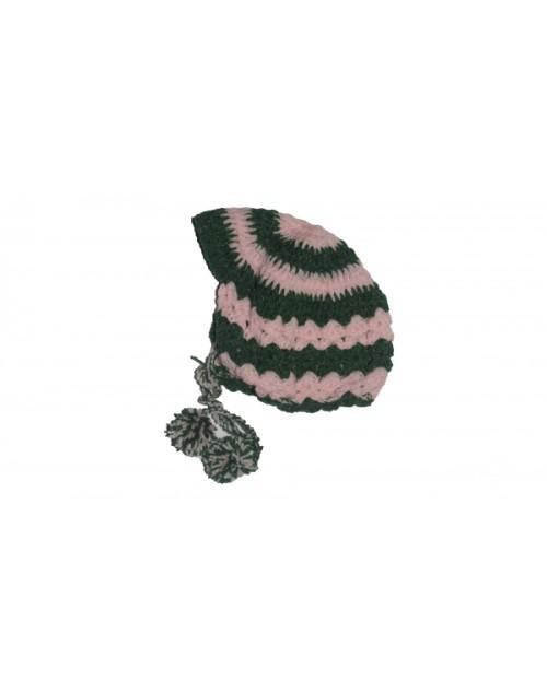 Handmade Woolen Baby Sweaters Crochet Cap P&G