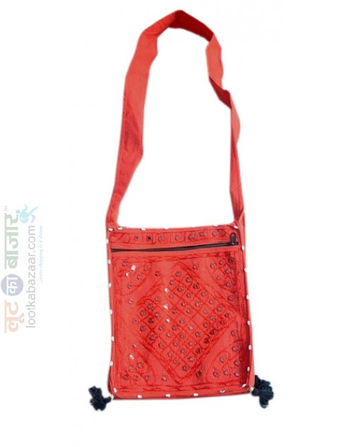 Rajasthani Red Bag