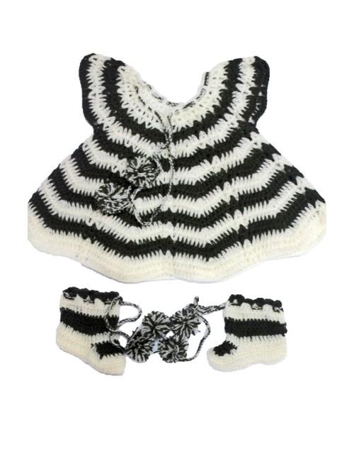 Handmade Woolen Baby Sweaters FS-2