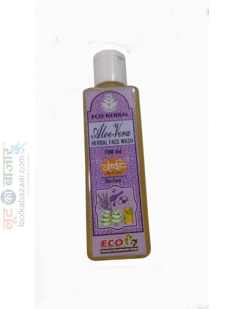 Eco Herbal Handmade Soaps Aloe- Vera Face Wash  100 ml (SEEHAVFW021903)