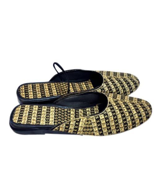 Teper Golden Sandal