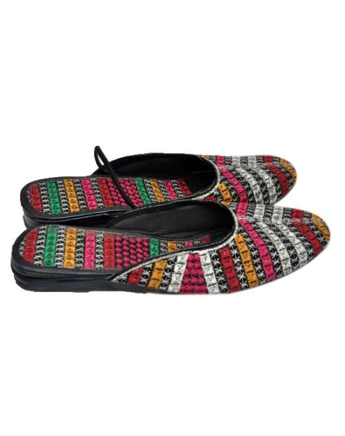 Teper Striped Sandal
