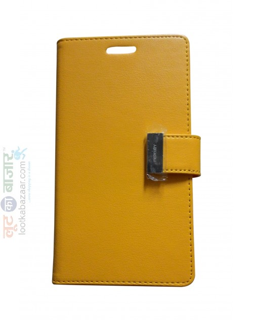 Rich Diary flip cover + Card Holder for Galaxy Note 4
